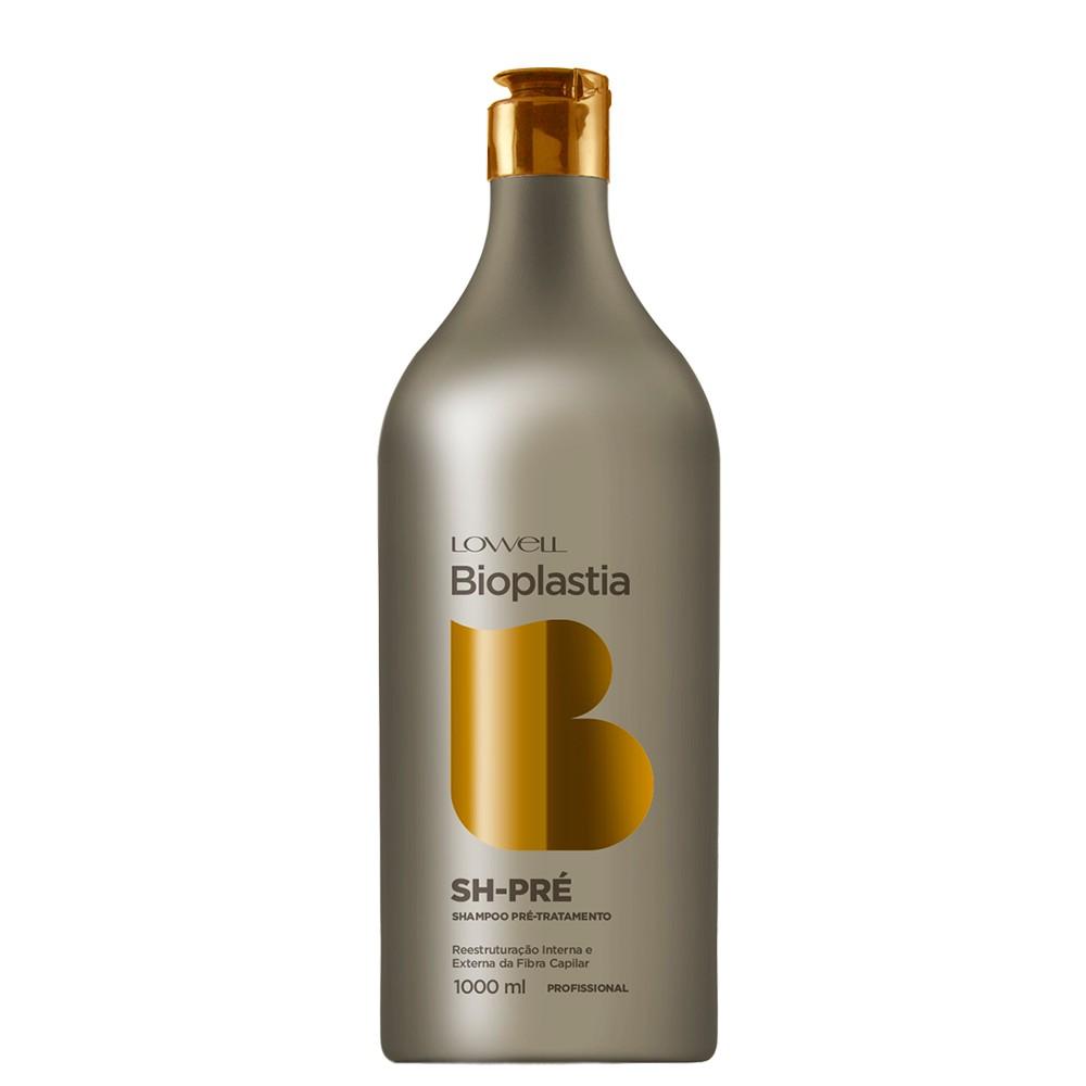 Lowell Lançamento Shampoo Pré Tratamento Bioplastia 1 litro