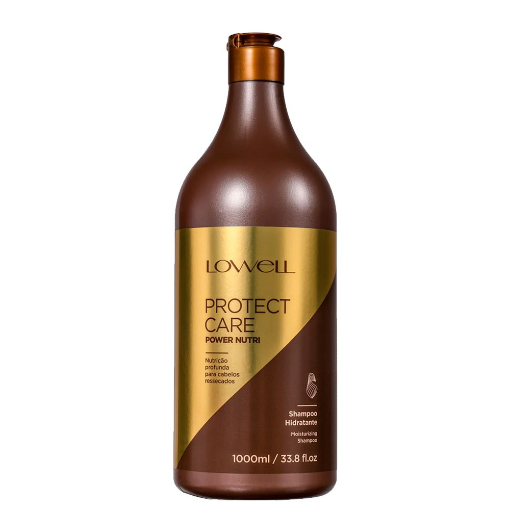 Lowell Protect Care Power Nutri Shampoo Nutrição Profunda 1L
