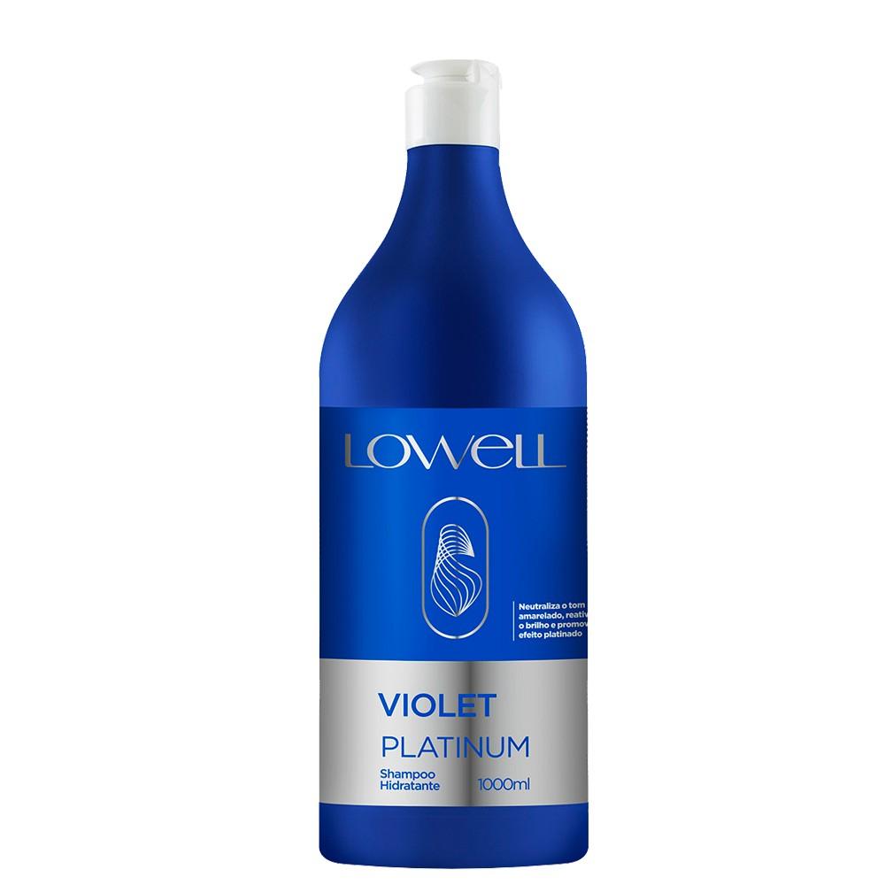 Lowell Violet Platinum Shampoo matizador 1000ml