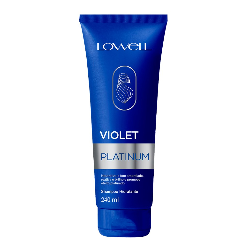 Lowelll Shampoo Matizante Violet Platinum Loiros 240ml