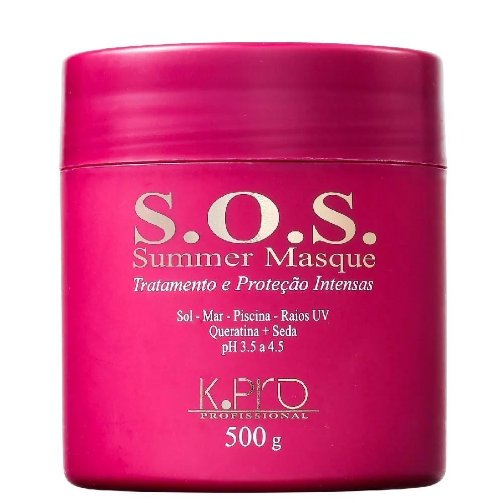 Máscara Tratamento KPro SOS Summer Masque Protege 500g