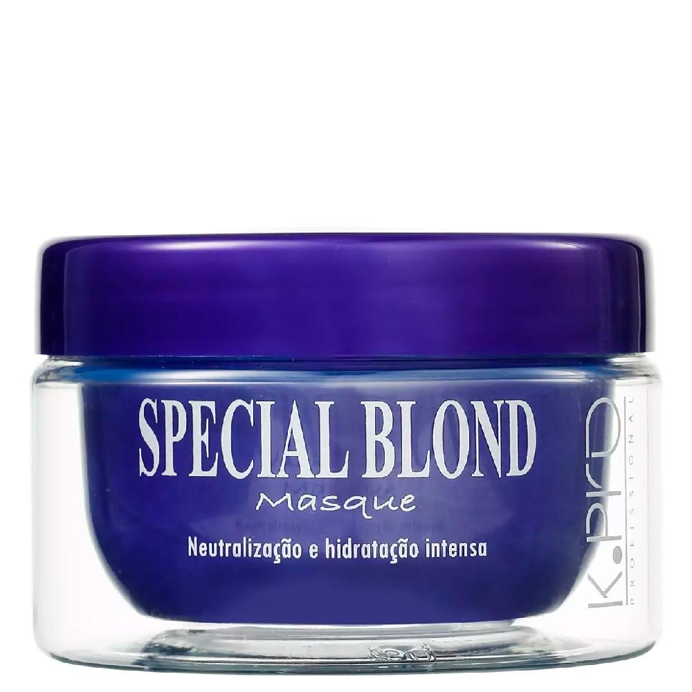 Máscara Tratamento para Cabelos Loiros KPro Special Blonde