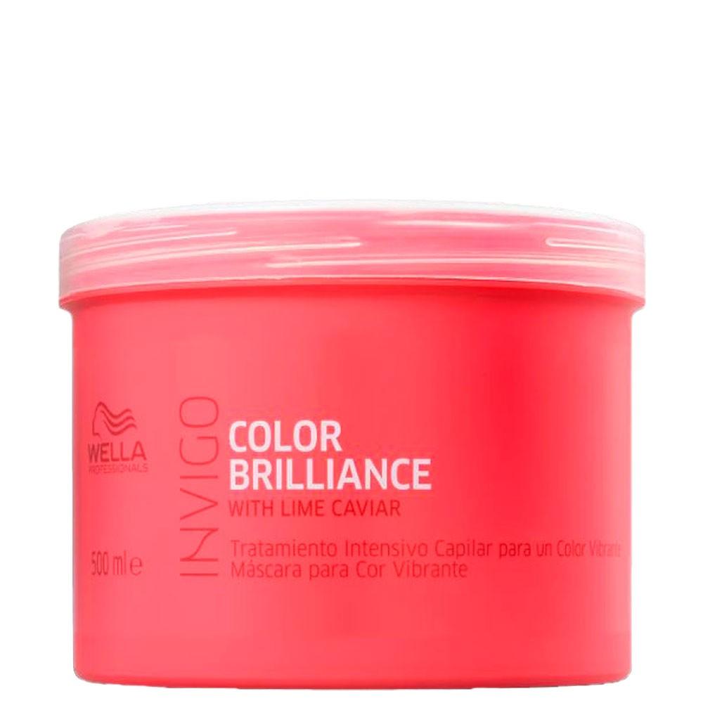 Mascara Tratamento Wella Invigo Color Brilliance Profissional