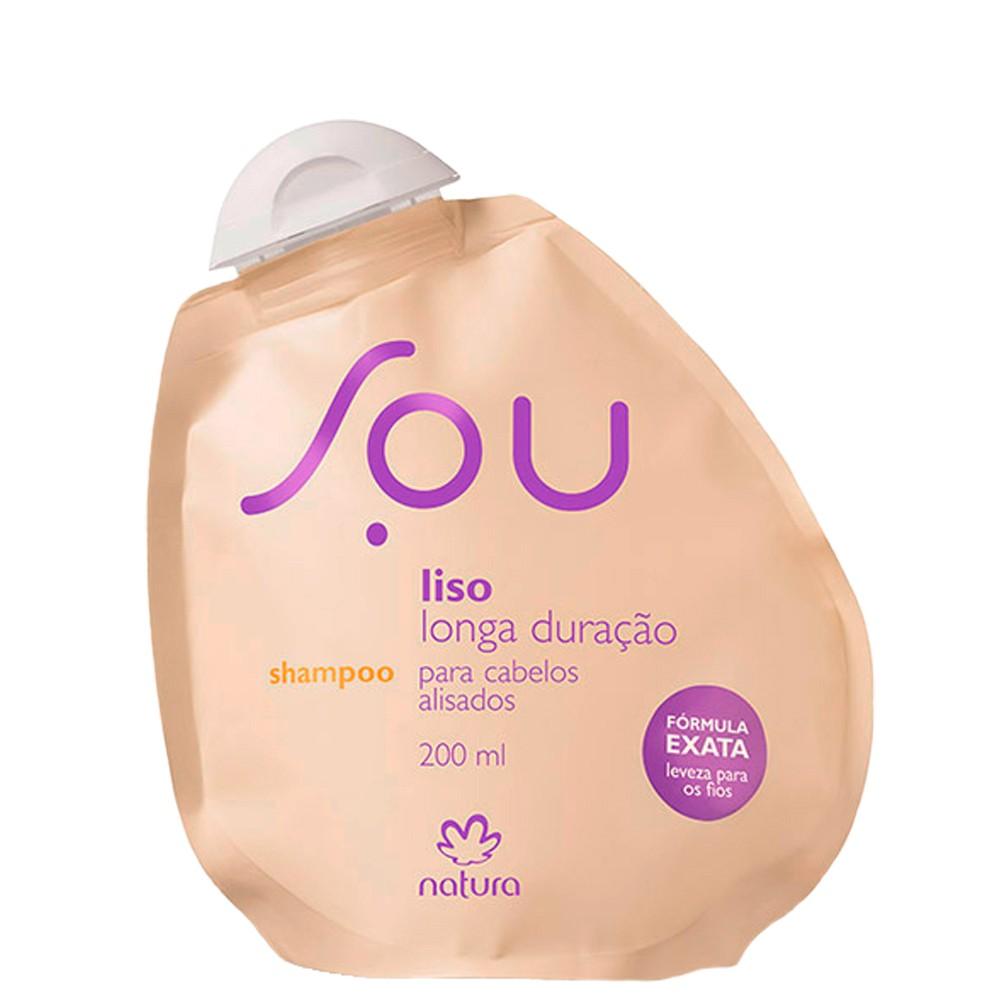 Natura Sou Shampoo Liso e Longa Duração 200ml