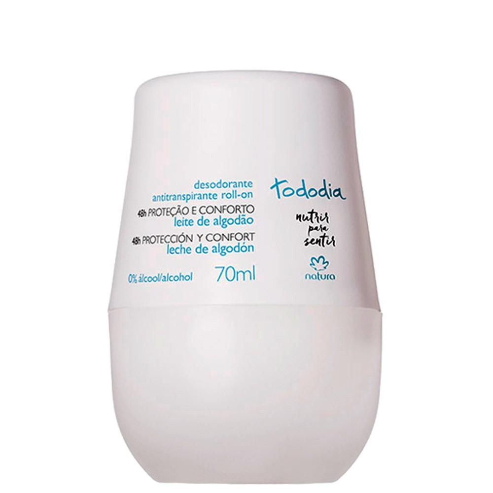 Natura TodoDia Desodorante Roll-on Algodão 48h 70ml