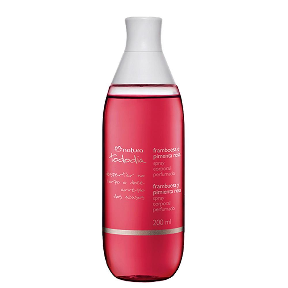 Natura Tododia Spray Corporal Framboesa e Pimenta Rosa 200ml