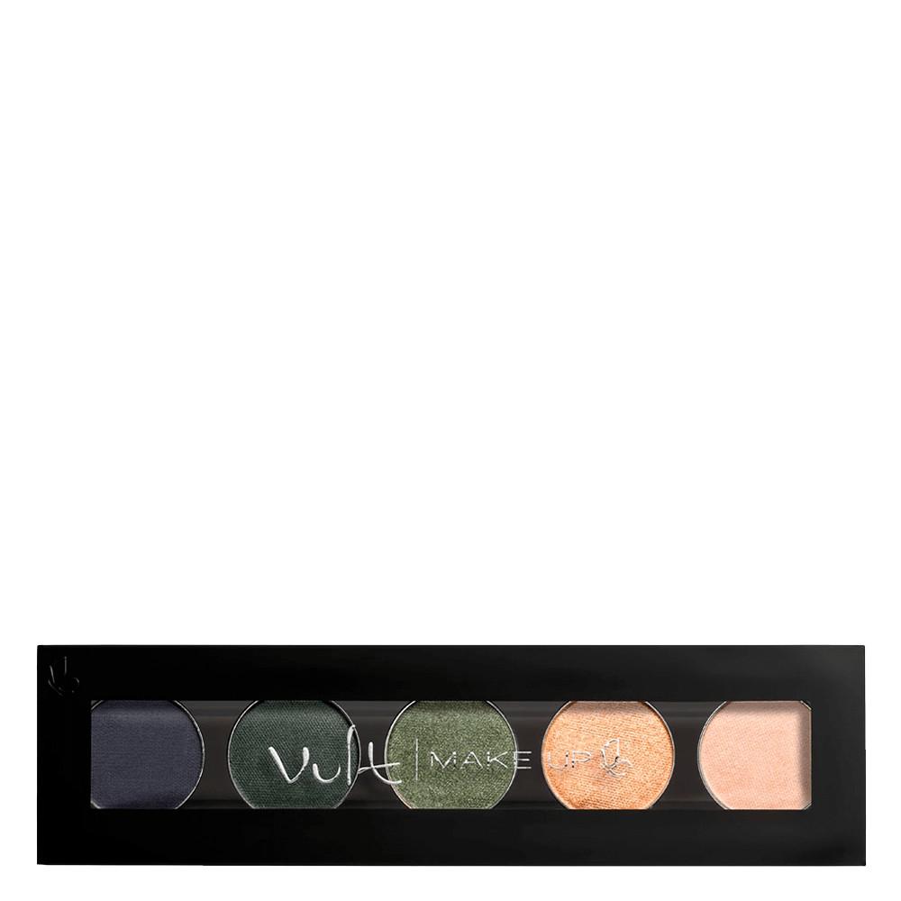 Paleta Sombra Quinteto Vult Glam 5 Cores Cintilantes e Opaca