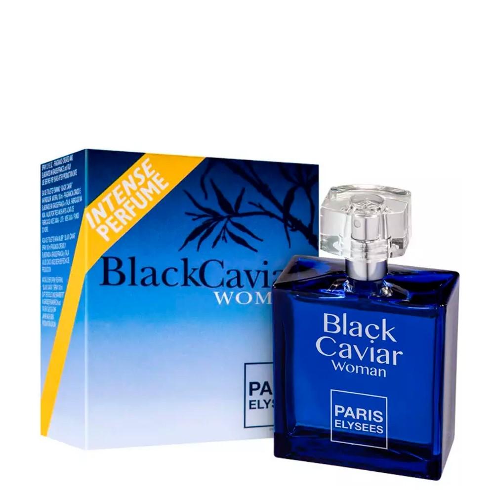 Perfume Black Caviar Womam Paris Elysees Olfativa Armani Code