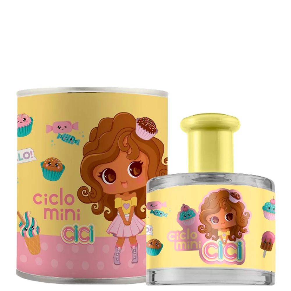 Perfume Ciclo Mini Cici Mel Cheirinho Delicioso Meninas