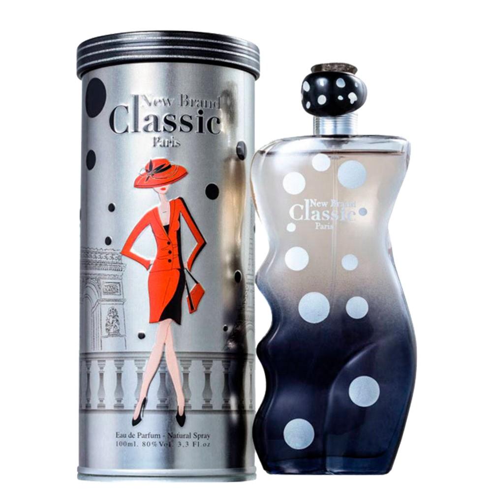 Perfume New Brand Classic Paris Feminino Sensual EDP 100Ml