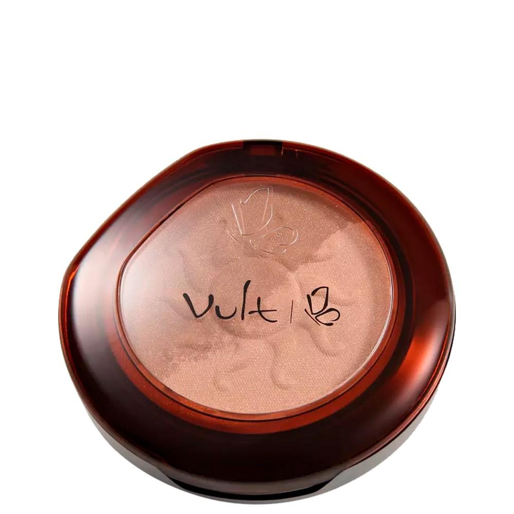 Pó Compacto Vult Make Up 3 Iluminador e Bronzeador 2 em 1
