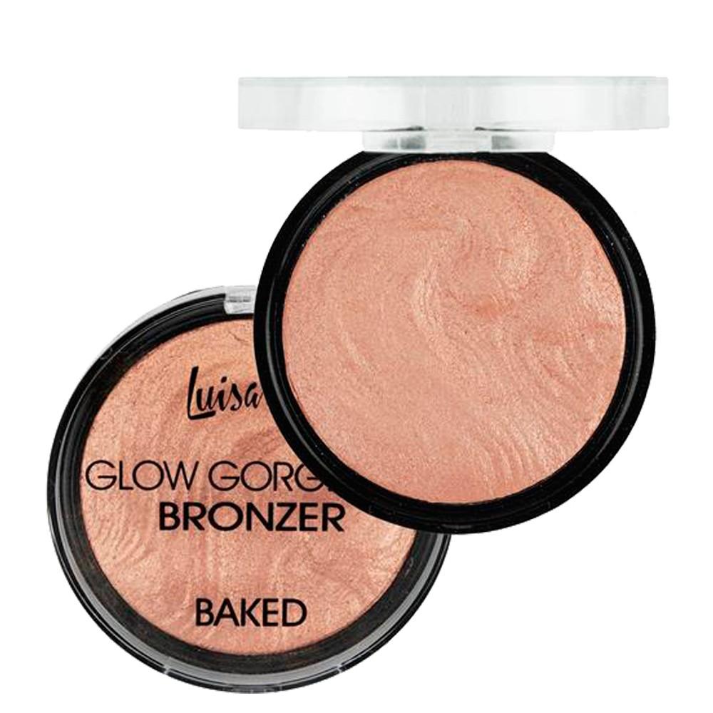 Pó Glow Gorgeous Bronzer Baked Cor A L 3033 - Luisance