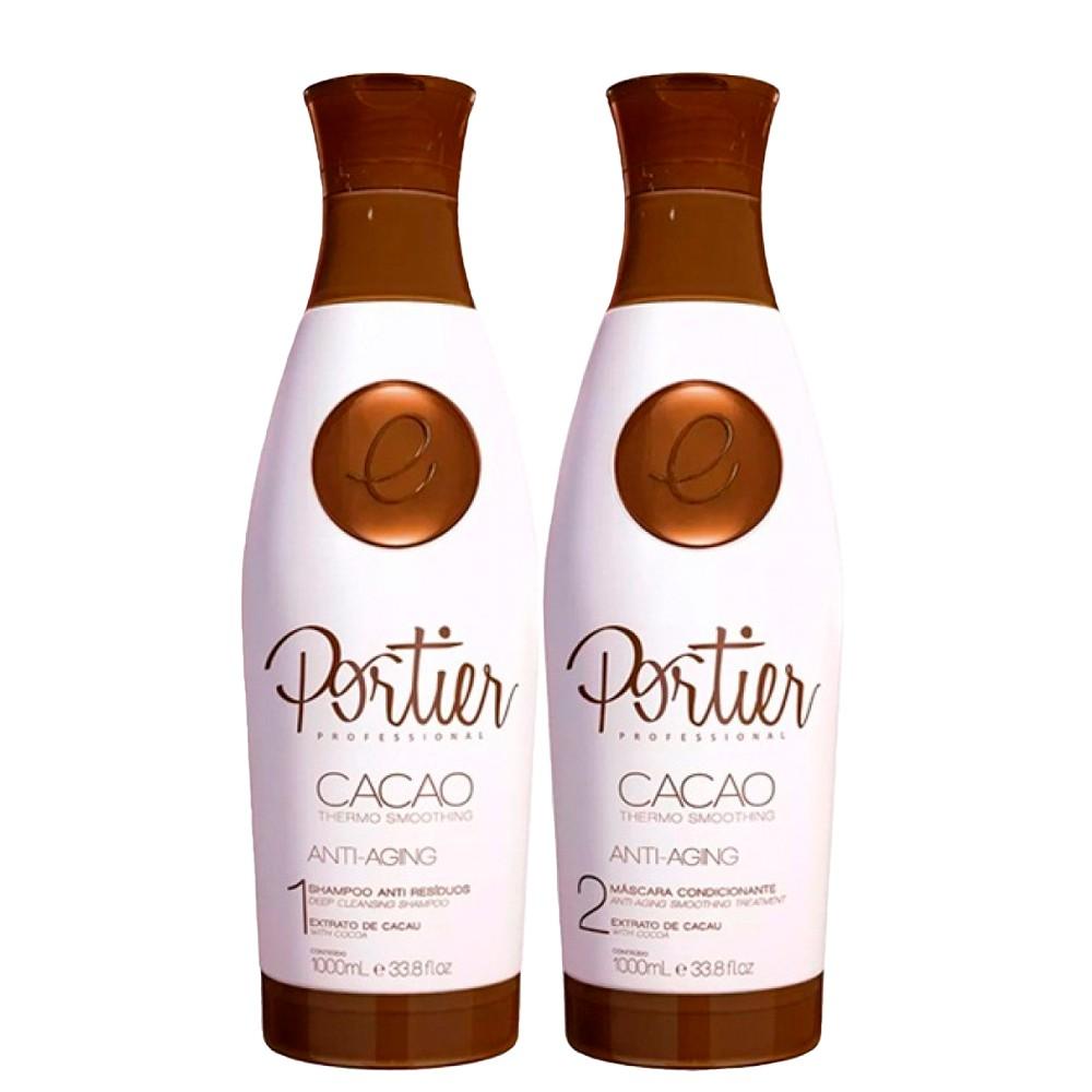 Portier Cacao Shampoo Lisos e Brilhantes