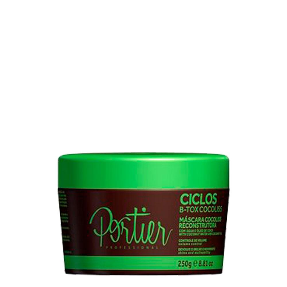 Portier Ciclos Btox Cocoliss Alinhamento Mascara Reconstrutora 250gr
