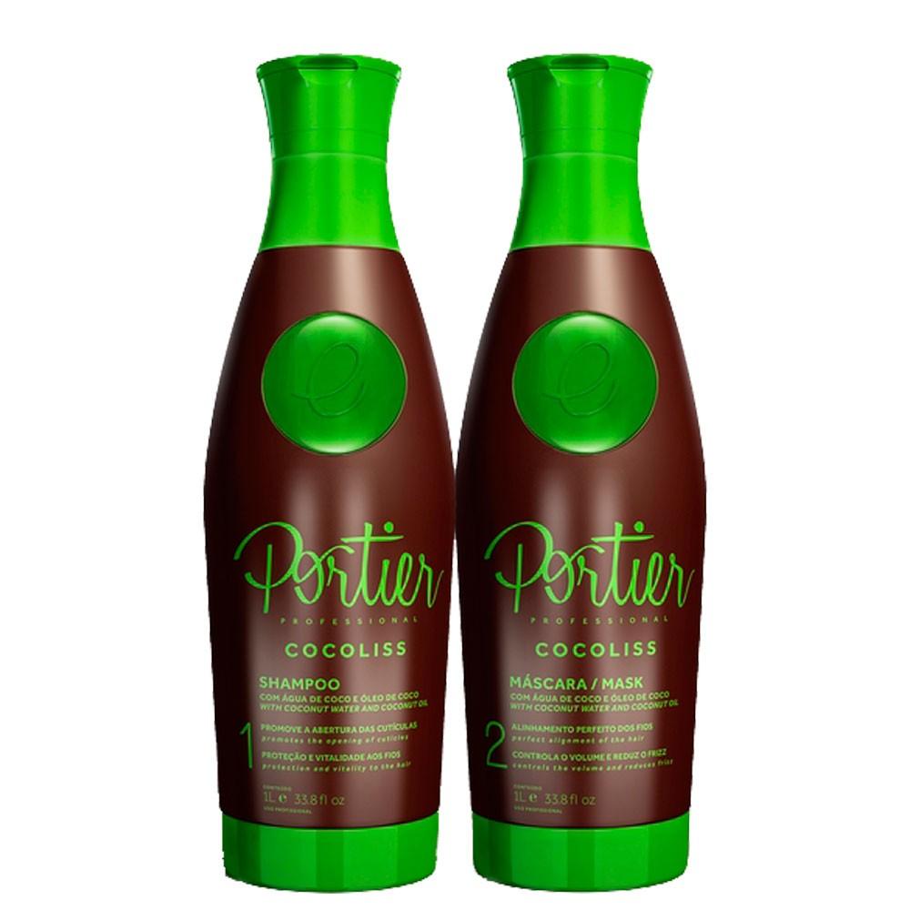 Portier CocoLiiss Realinhamento Capilar Hidratante