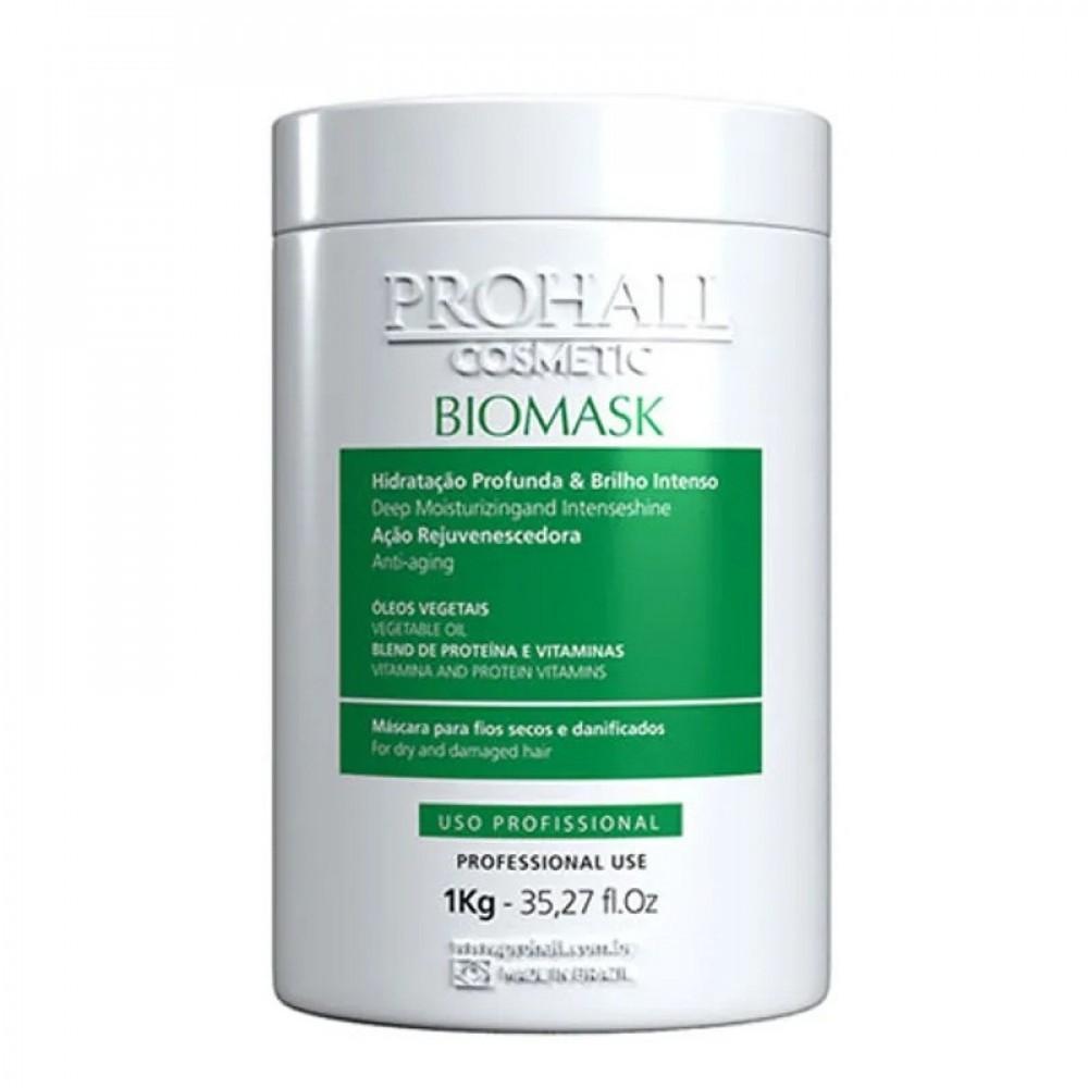 Prohall Biomask Hidratação para Cabelos Danificados 1kg