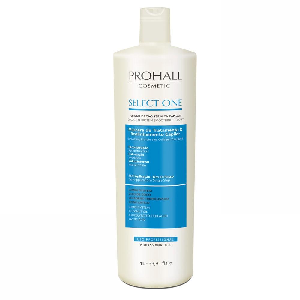 Prohall Select One Progressiva Sem Formol 1L