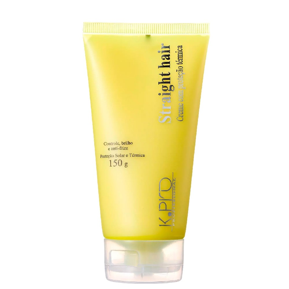 Protetor Térmico KPro Straight Hair Creme Protetor 150g