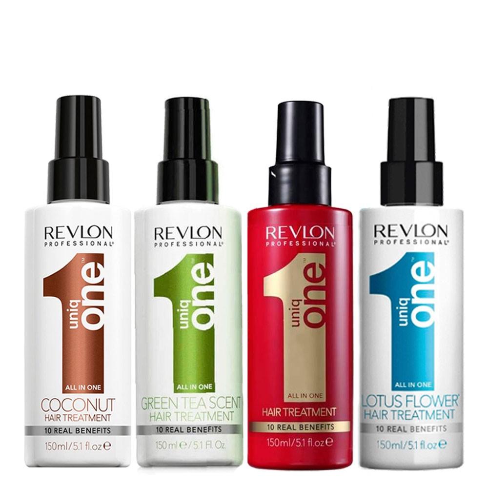 Revlon Professional Kit de Tratamento Completo Uniq One Hair Treatment Spray Mask