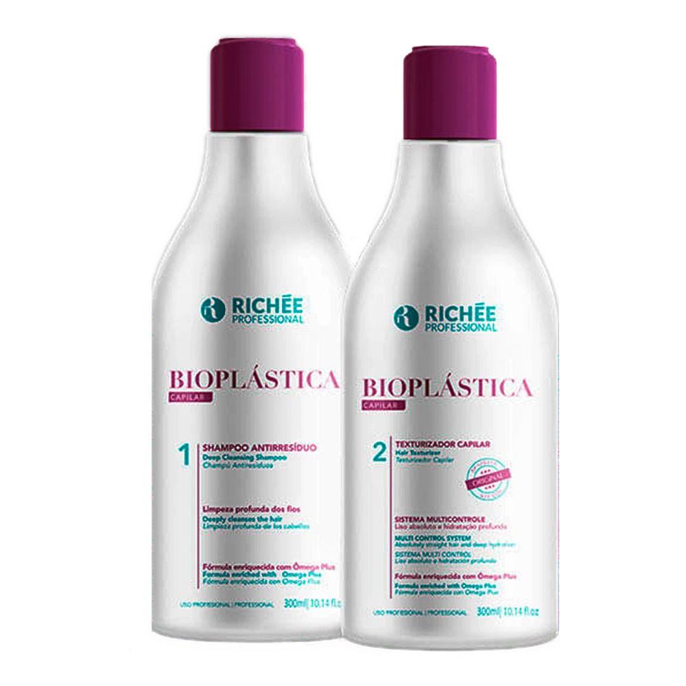 Richée Bioplastica Capilar Kit Progressiva 2x300ml/2x10.1fl.oz