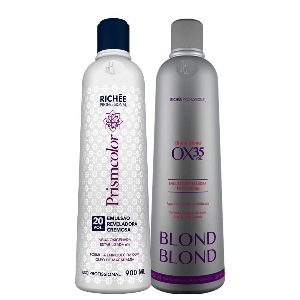 Richée Blond Blond Emulsão Reveladora Ox. 20/35