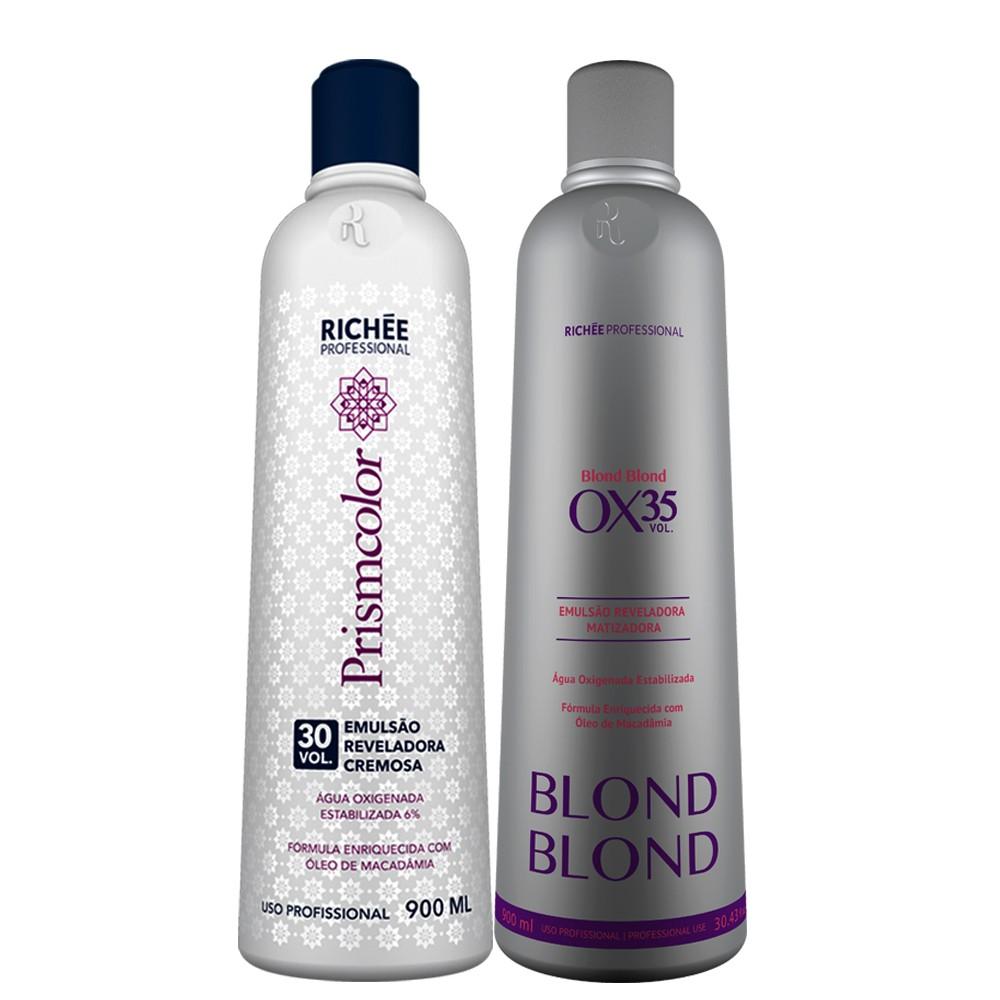 Richée Blond Blond Emulsão Reveladora Ox. 30/35