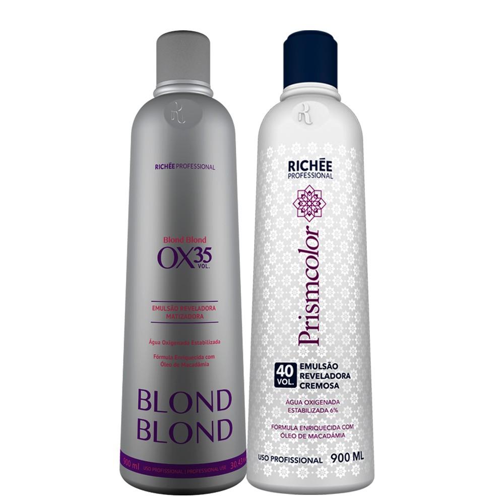 Richée Blond Blond Emulsão Reveladora Ox. 35/40