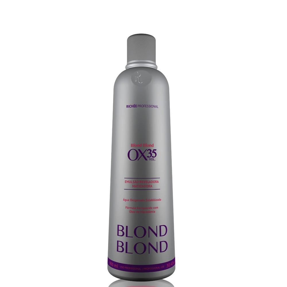 Richée Blond Blond Emulsão Reveladora Ox. 35 Vol. 900ml
