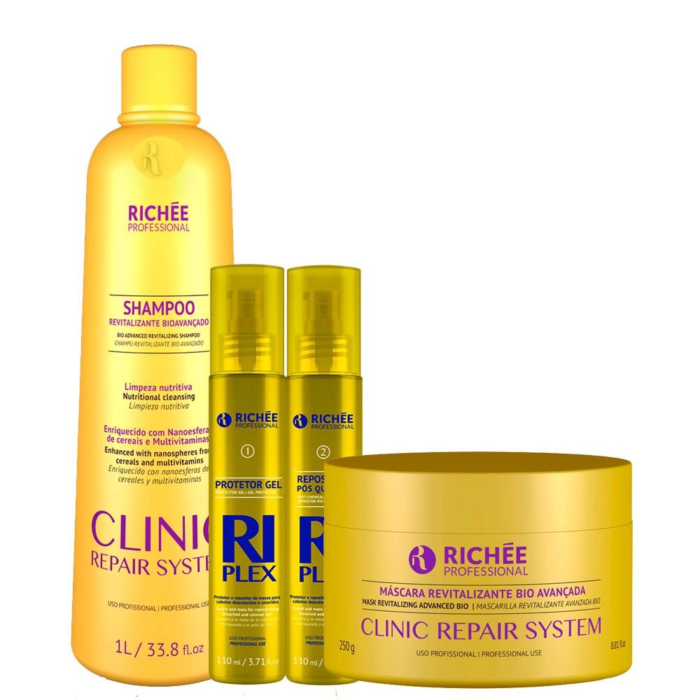 Richée Clinic Repair + Riplex Kit Tratamento Intenso