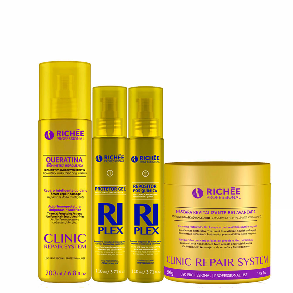 Richée Mascara Clinic + Riplex + Queratina
