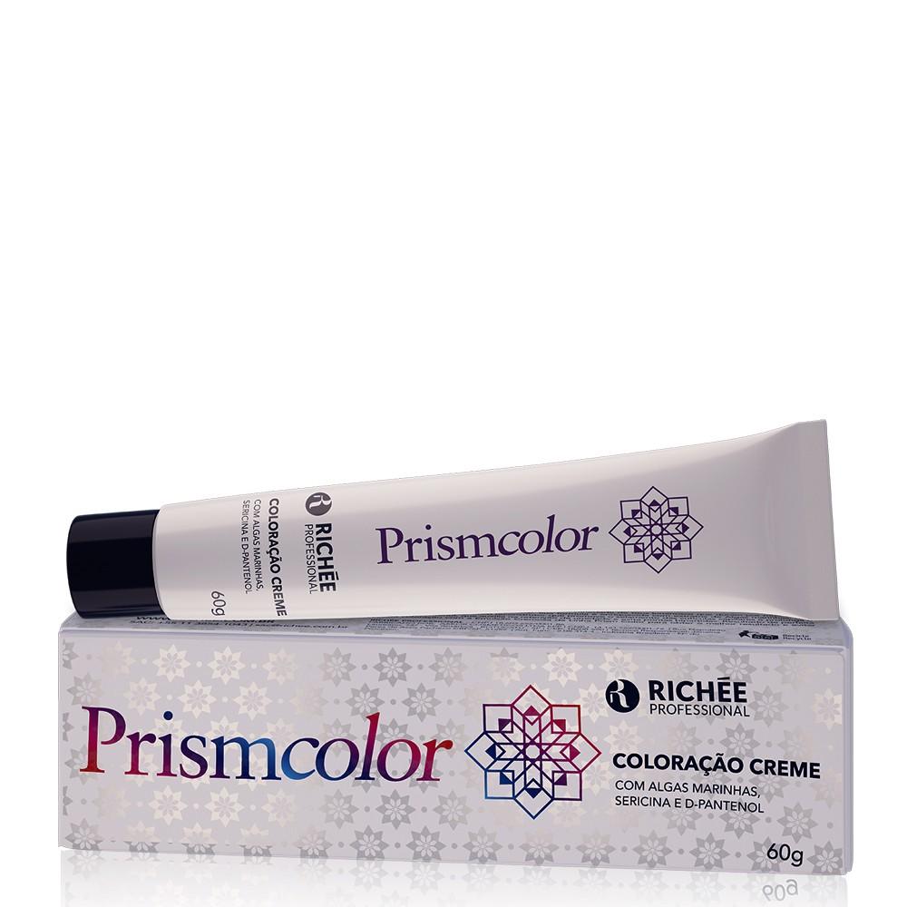 Richée Prismcolor Coloração 8.1 Louro Claro Cinza Tinta Cabelo 60g