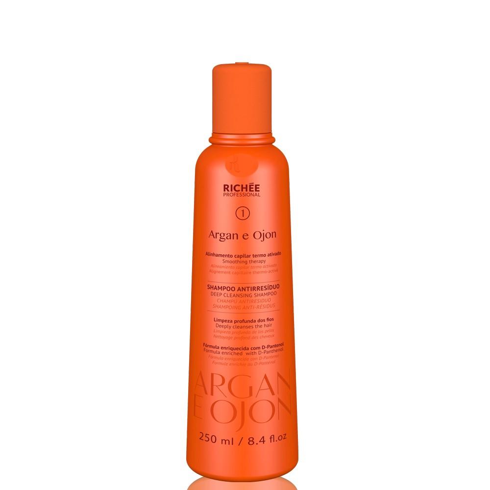 Richée Professional Argan e Ojan Shampoo Antiresíduo 250ml