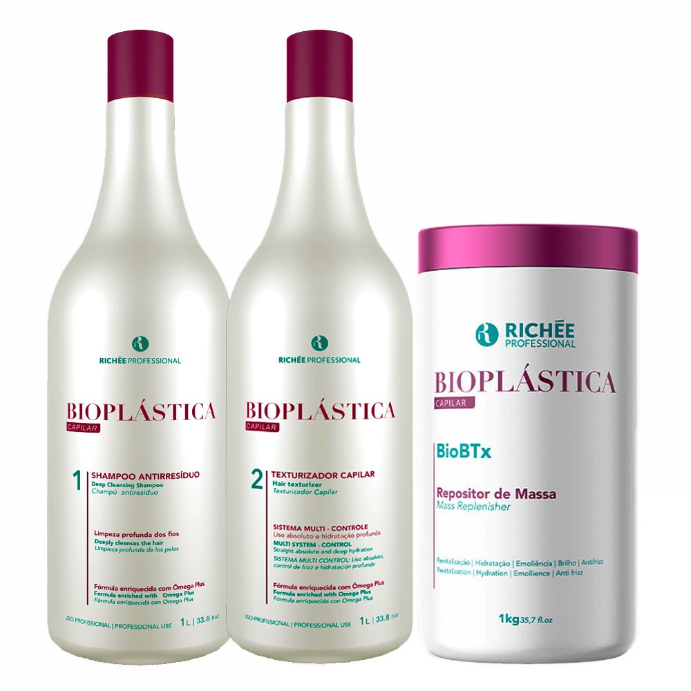 Richée Progressiva Bioplastica + BioBTx Repositor de Massa 1kg
