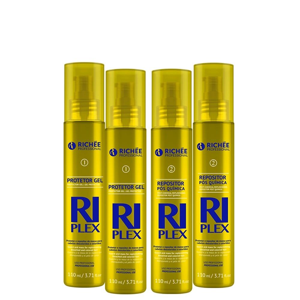 Richée Riplex Descoloração Saudável 2 Protetores + 2 Reposit.