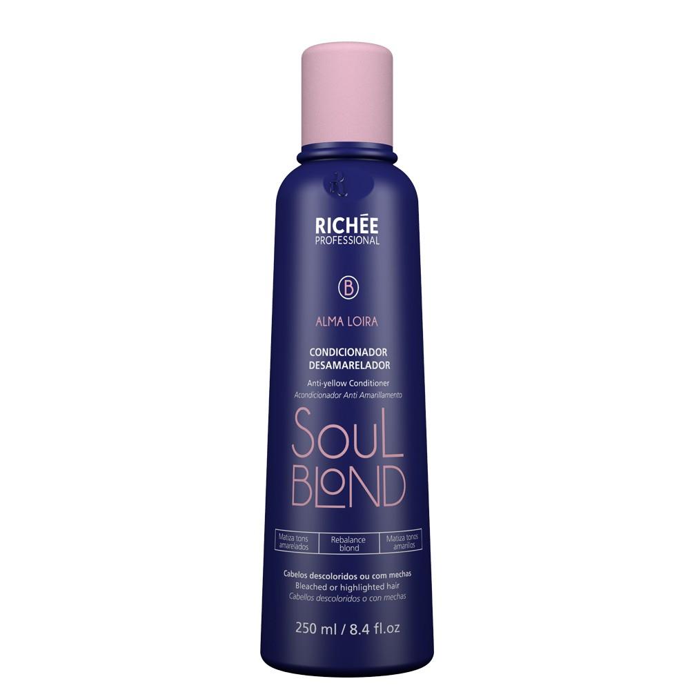 Richée Soul Blond Condicionador Desamarelador 250ml
