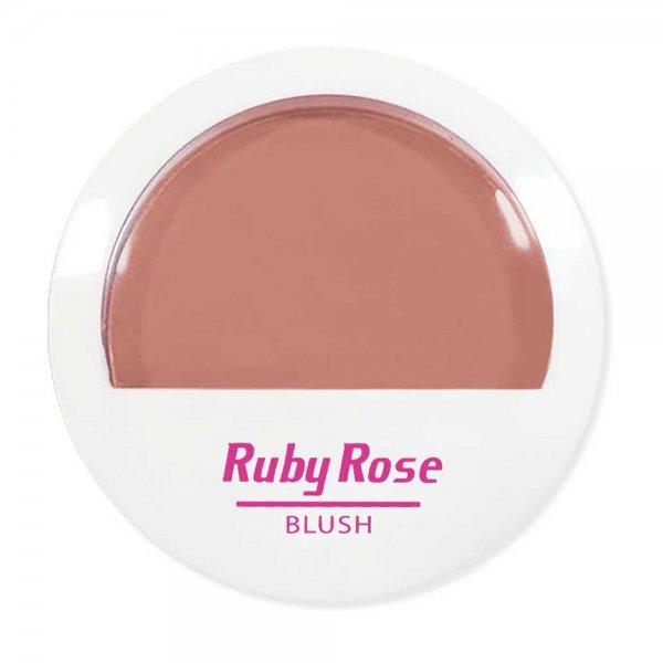 Ruby Rose Blush B18 Marrom Claro Corada com Naturalidade