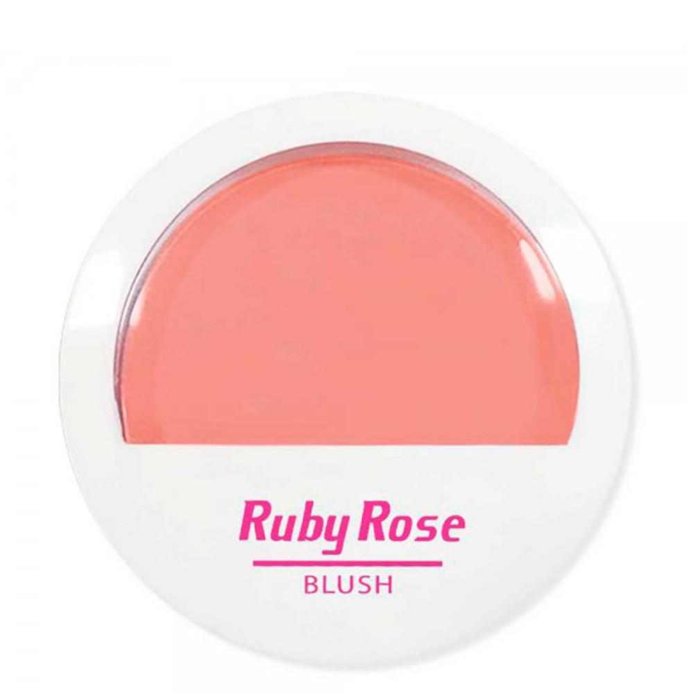 Ruby Rose Blush Pêssego B01 Naturalidade Saudável E Corada