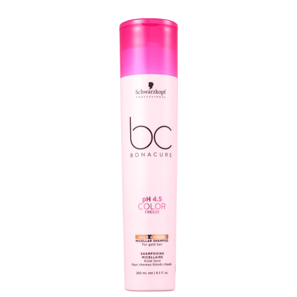 Schwarzkopf BC Gold Shimmer Shampoo Louros Tons Vibrantes