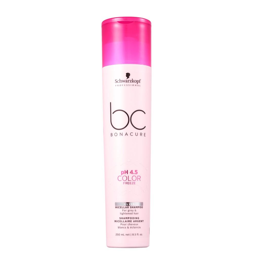 Schwarzkopf BC Silver Shampoo Desamarelador Color Freeze
