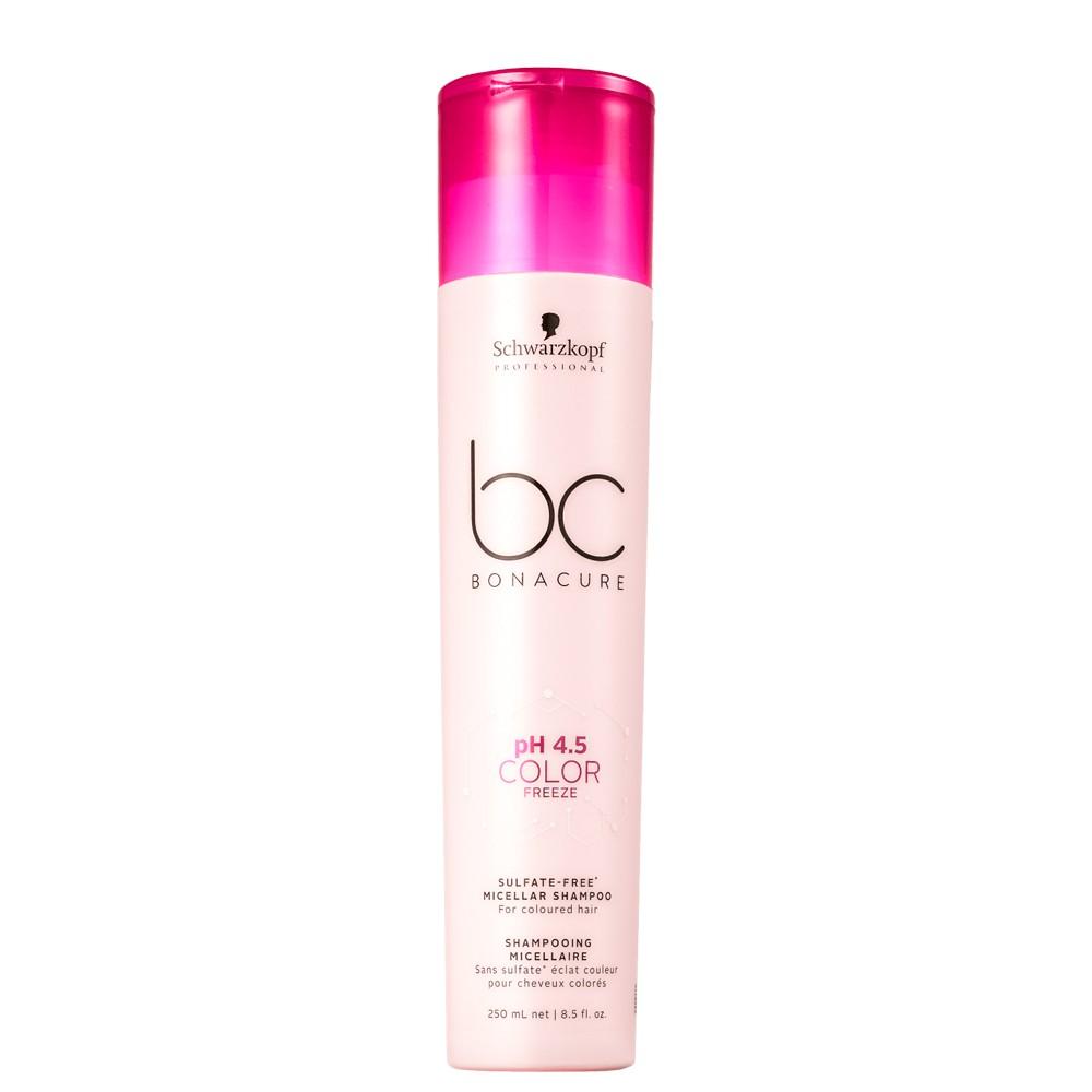 Schwarzkopf BC Sulfate-free Shampoo Color freeze Cor Vibrante