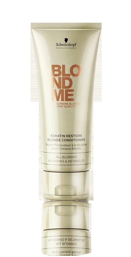 Schwarzkopf BlondMe Keratin Restore Blonde Conditioner 200ml