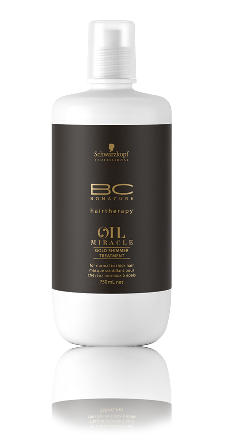 Schwarzkopf Bonacure Oil Miracle Gold Shimmer Máscara 750ml