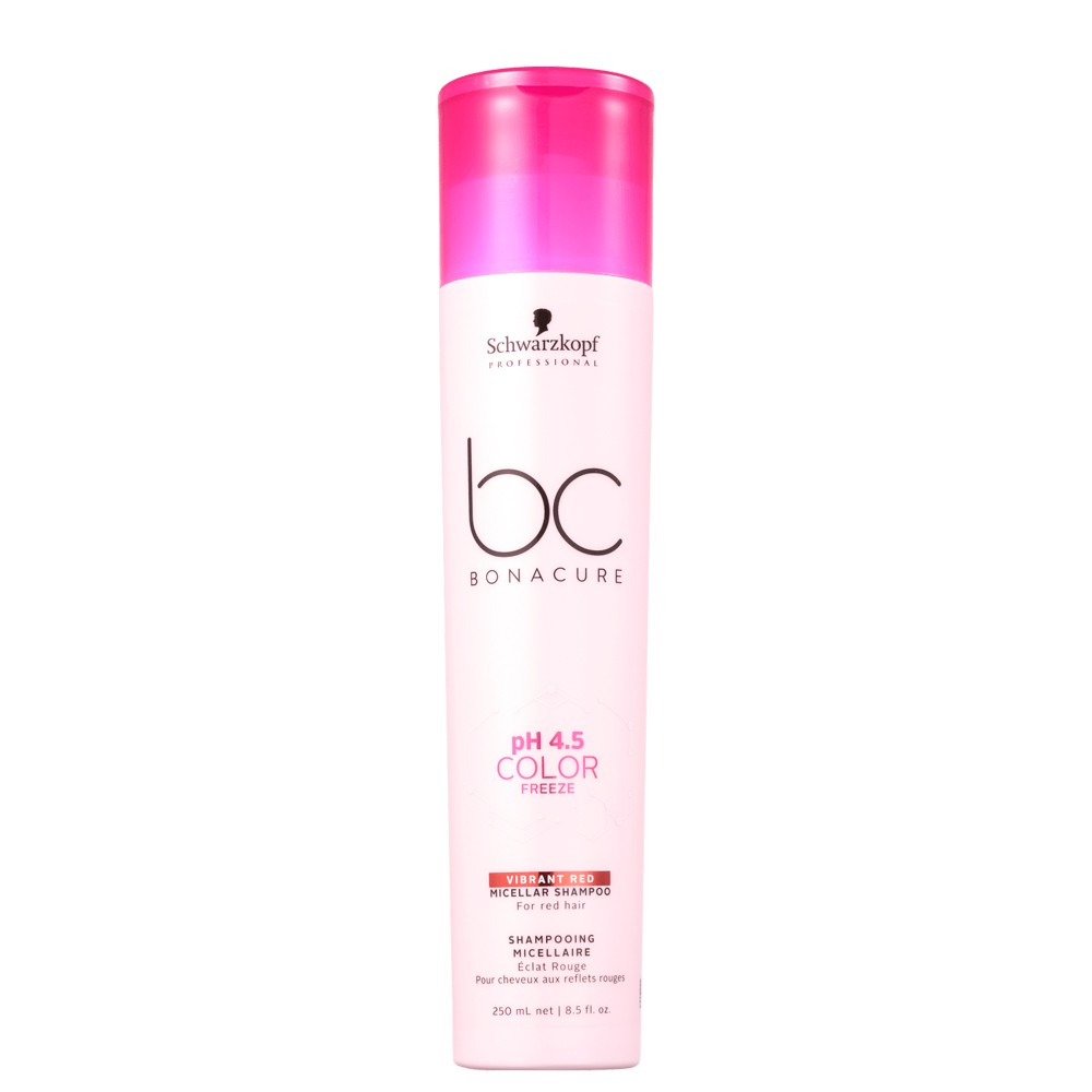 Schwarzkopf Bonacure Shampoo Color Freeze Red Cabelos Ruivos 250ml
