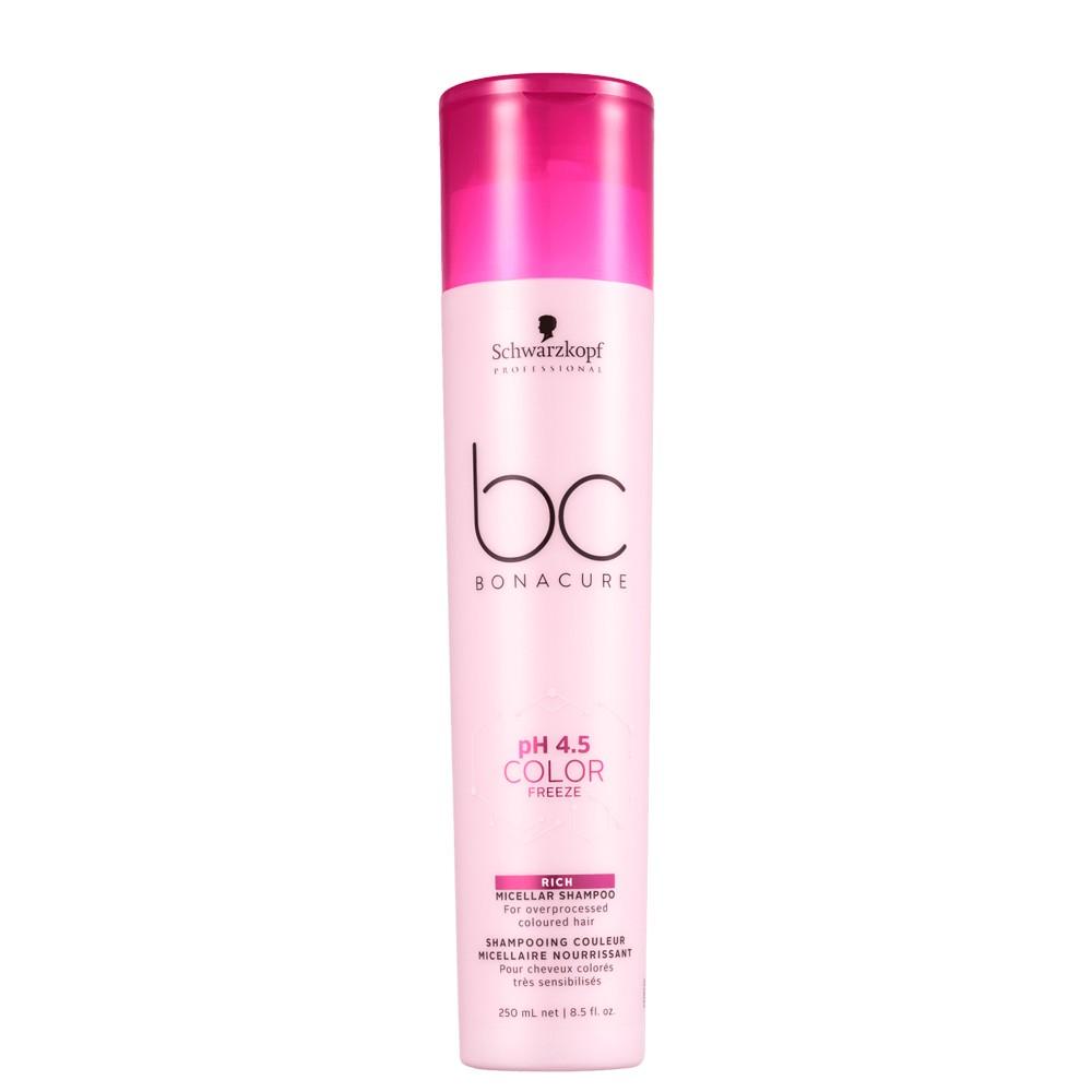 Schwarzkopf Bonacure Shampoo Rich Color freeze Cabelo Colorido