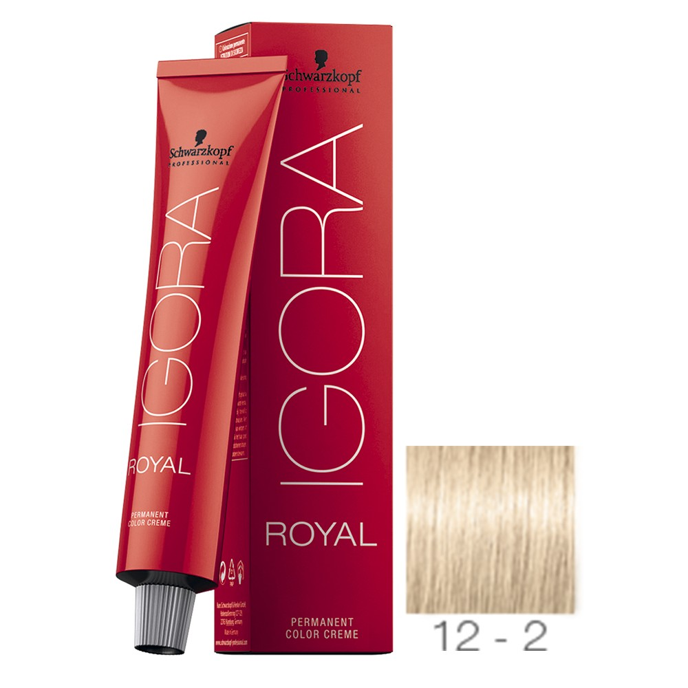 Schwarzkopf Igora Royal 12-2 Super Clareador Fumê 60g