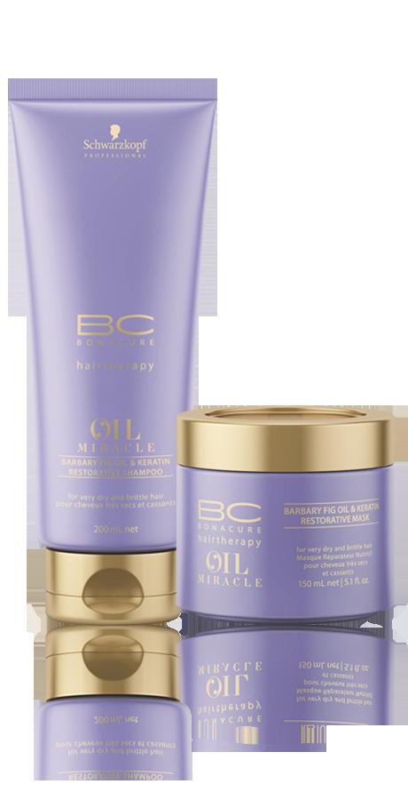 Schwarzkopf Prefessional BC Bonacure Oil Miracle Barbary Fig kit Duo