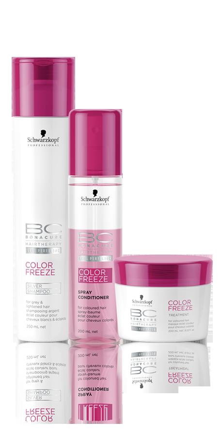 Schwarzkopf Professional BC Bonacure Color Freeze Silver Kit Spray
