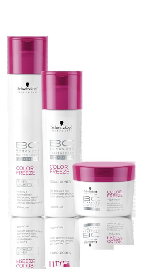 Schwarzkopf Professional BC Bonacure Color Freeze Silver Kit Trio