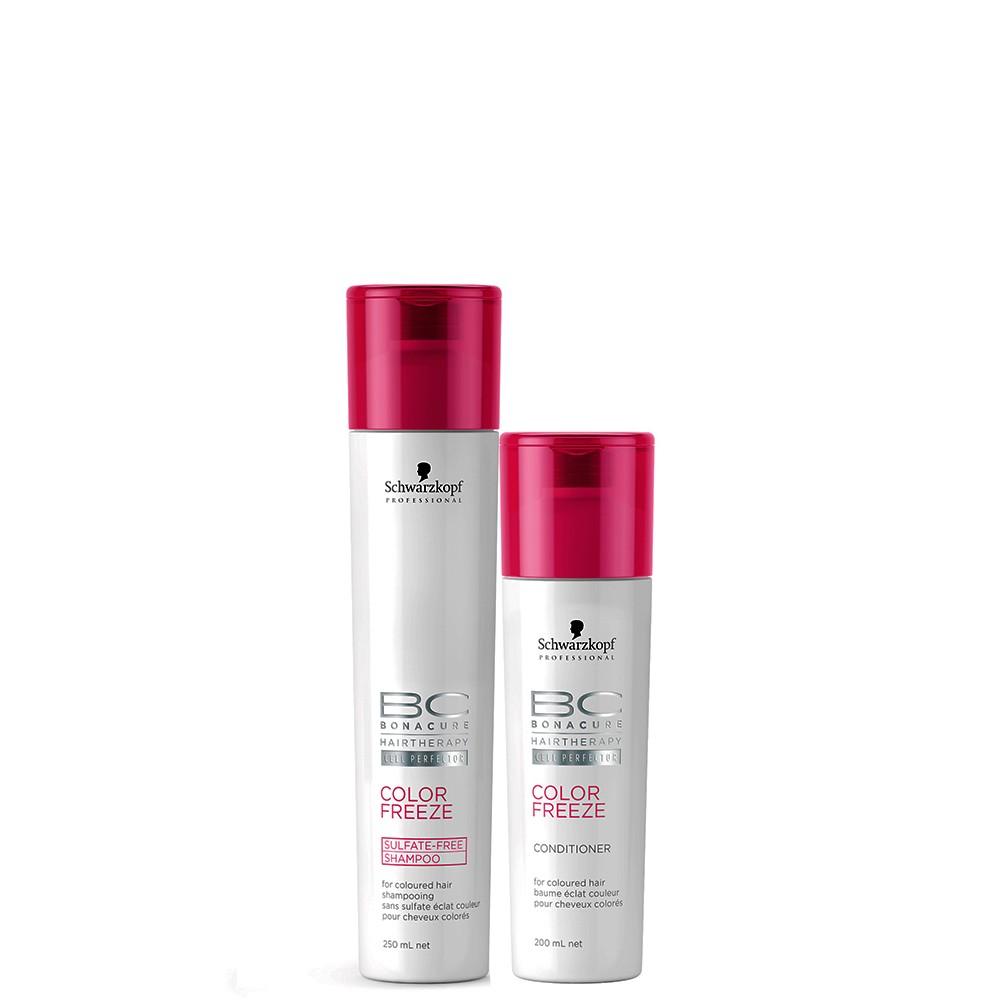 Schwarzkopf Professional BC Bonacure Color Freeze Sulfate-Free Kit Duo