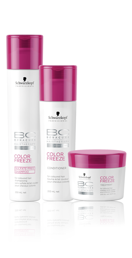 Schwarzkopf Professional BC Bonacure Color Freeze Sulfate-Free Kit Trio